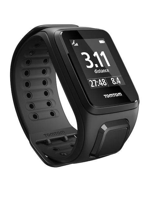 TomTom-Spark-Unisex-Black-Cardio-GPS-Fitness-Smart-Watch-Large
