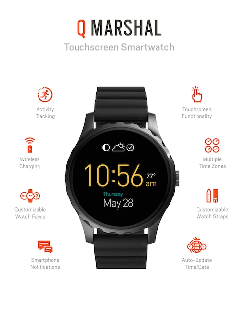 Fossil-Q-Marshal-Black-Touchscreen-Smart-Watch
