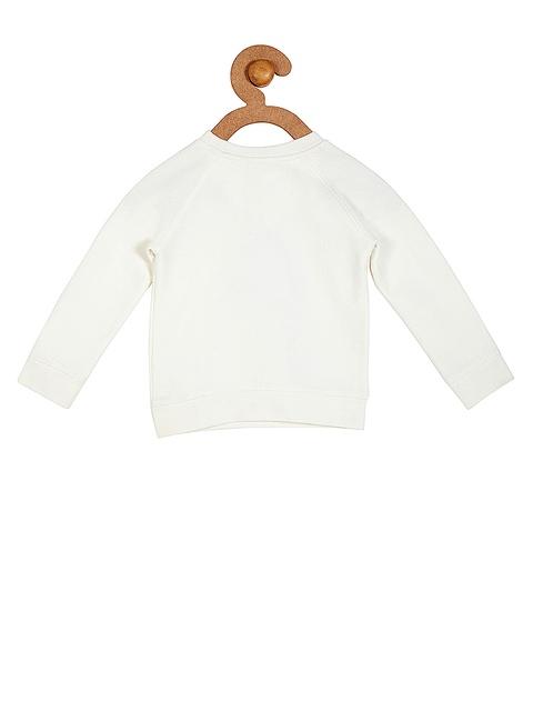 Cherry-Crumble-Girls-White-Printed-Sweatshirt