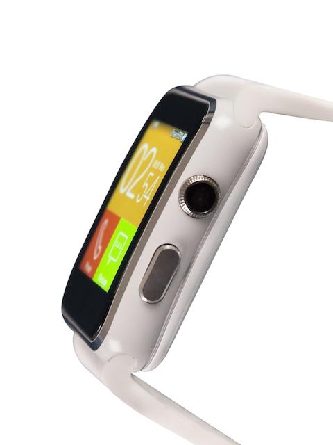 Noise-Edge-Unisex-White-Smartwatch