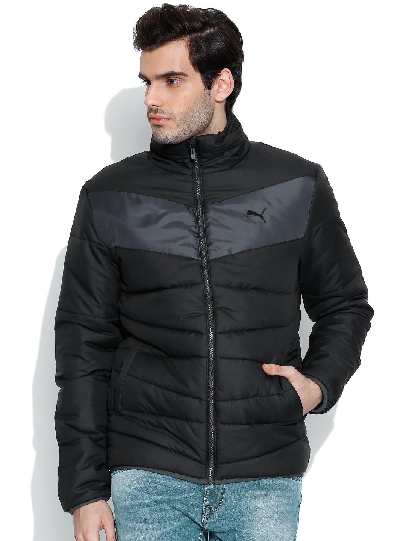 2516bfd59 PUMA Black ESS Padded Jacket