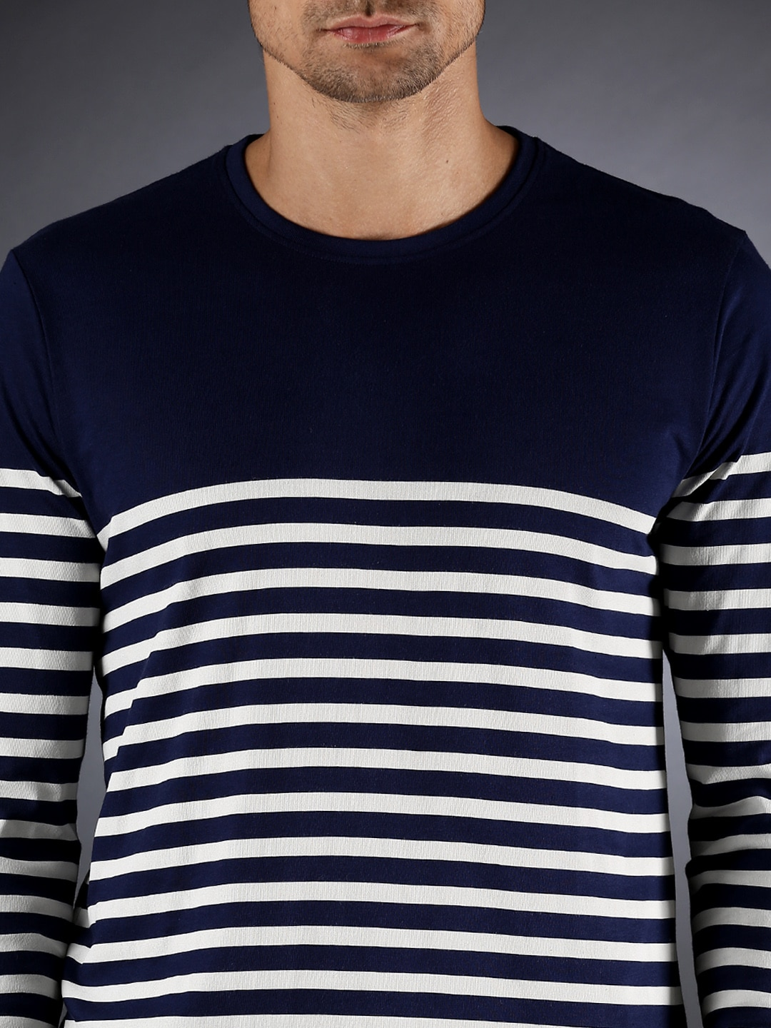 Black and white striped t shirt xxl - Long Sleeve T Shirts For Men Buy Mens Long Sleeve T Shirts Online In India