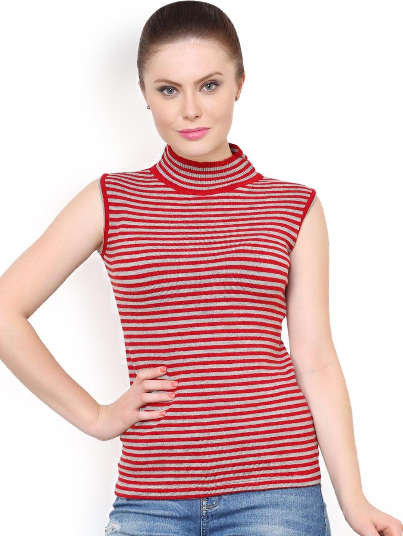 d7d94cfca5bed1 Women Sleeveless Sweaters - Buy Women Sleeveless Sweaters online in India