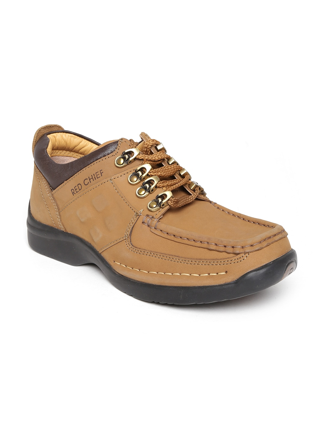 Red Chief Men Camel Brown Casual Shoes