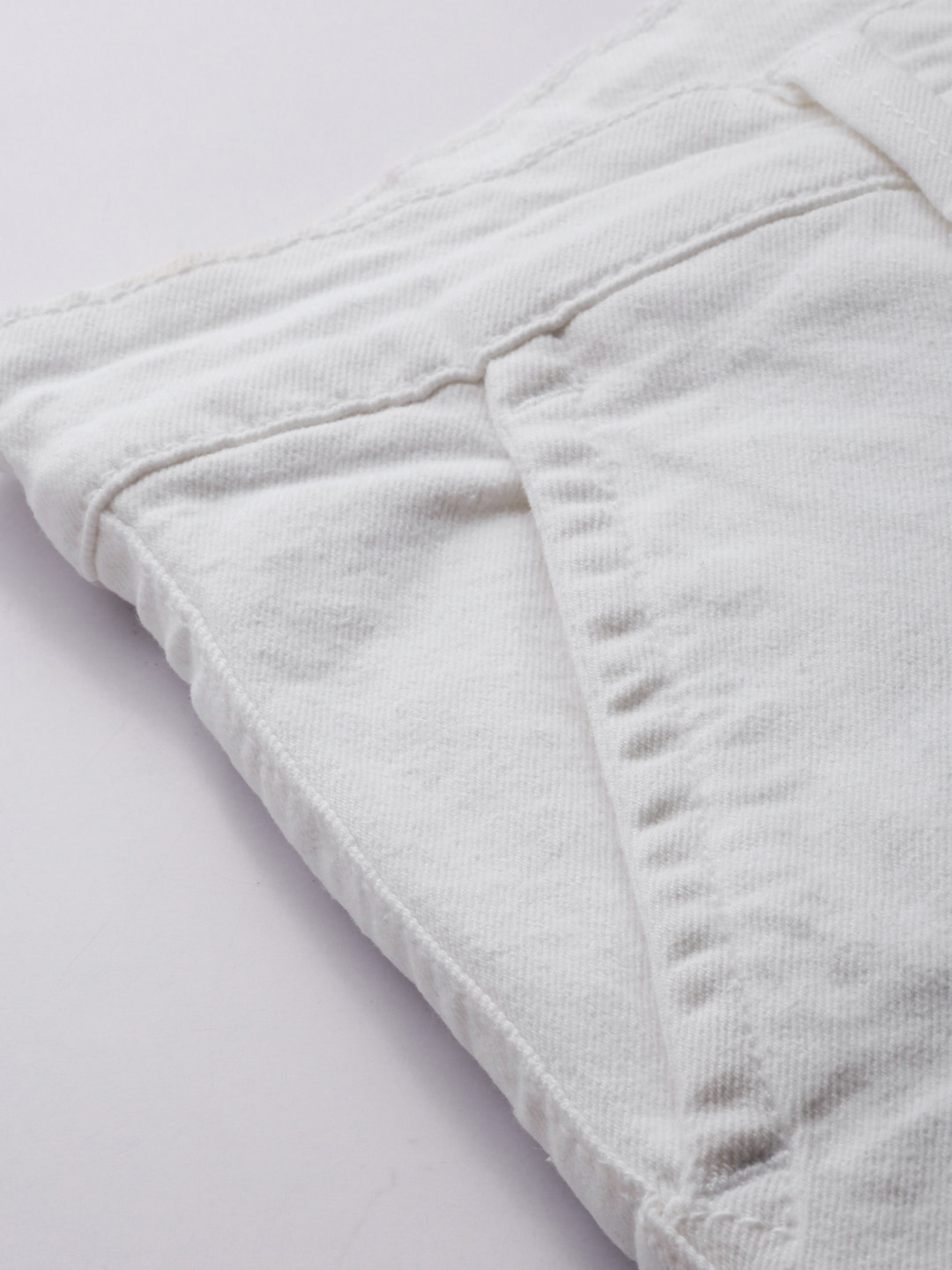 Mast & Harbour Men White Skinny Fit Mid-Rise Clean Look Stretchable Jeans