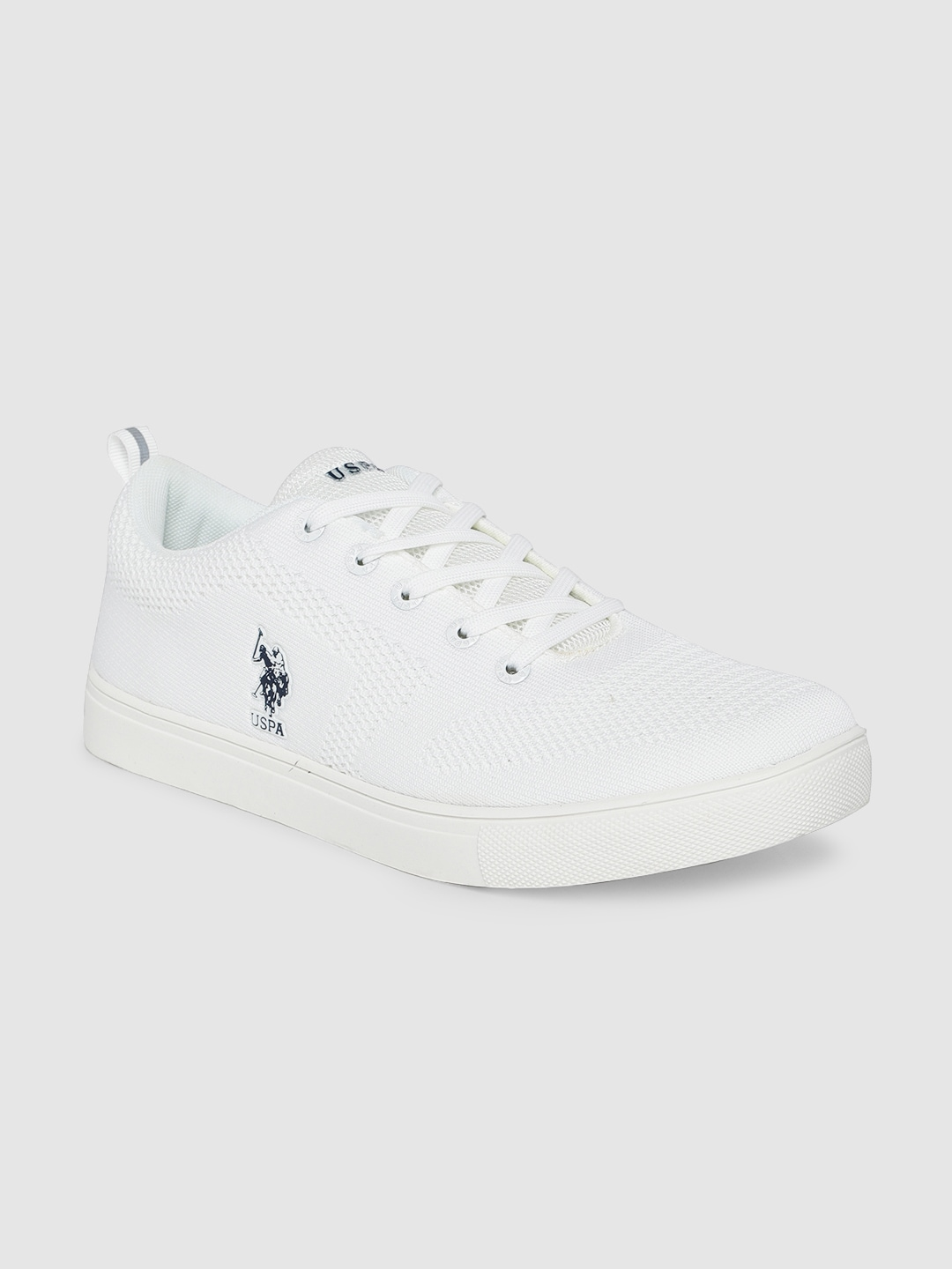 U.S. Polo Assn. Men Off-White Sneakers