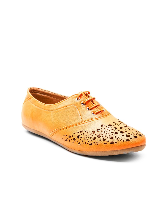 Marc Loire Women Orange Casual Shoes