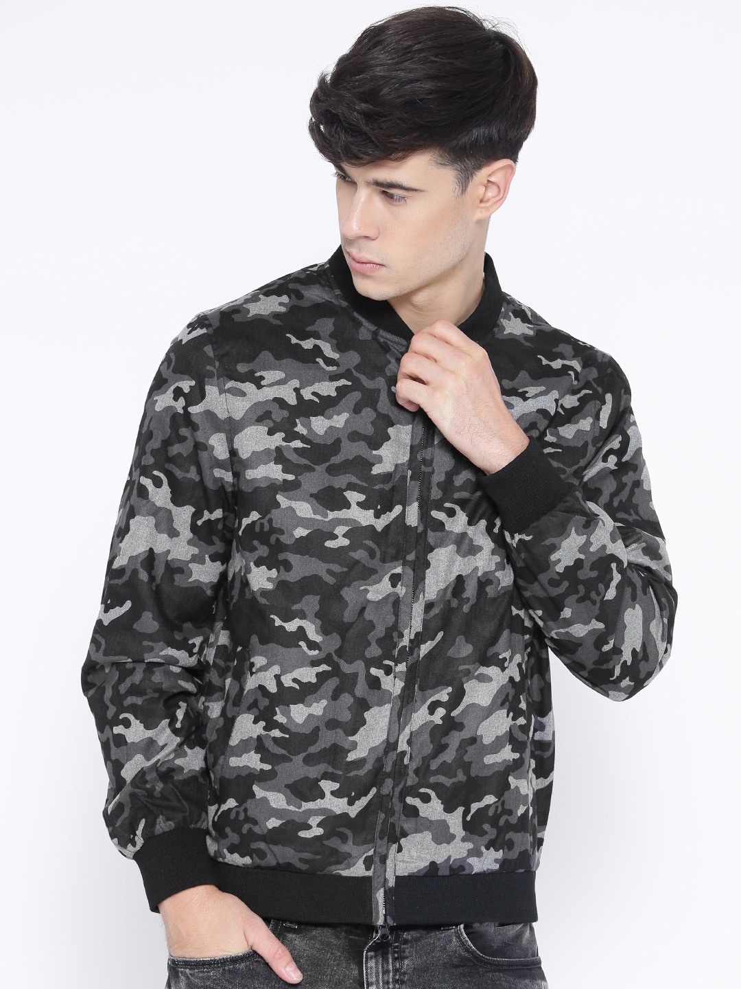 3352ccdae751b5 Camouflage Jacket - Buy Trendy Camouflage Jackets Online