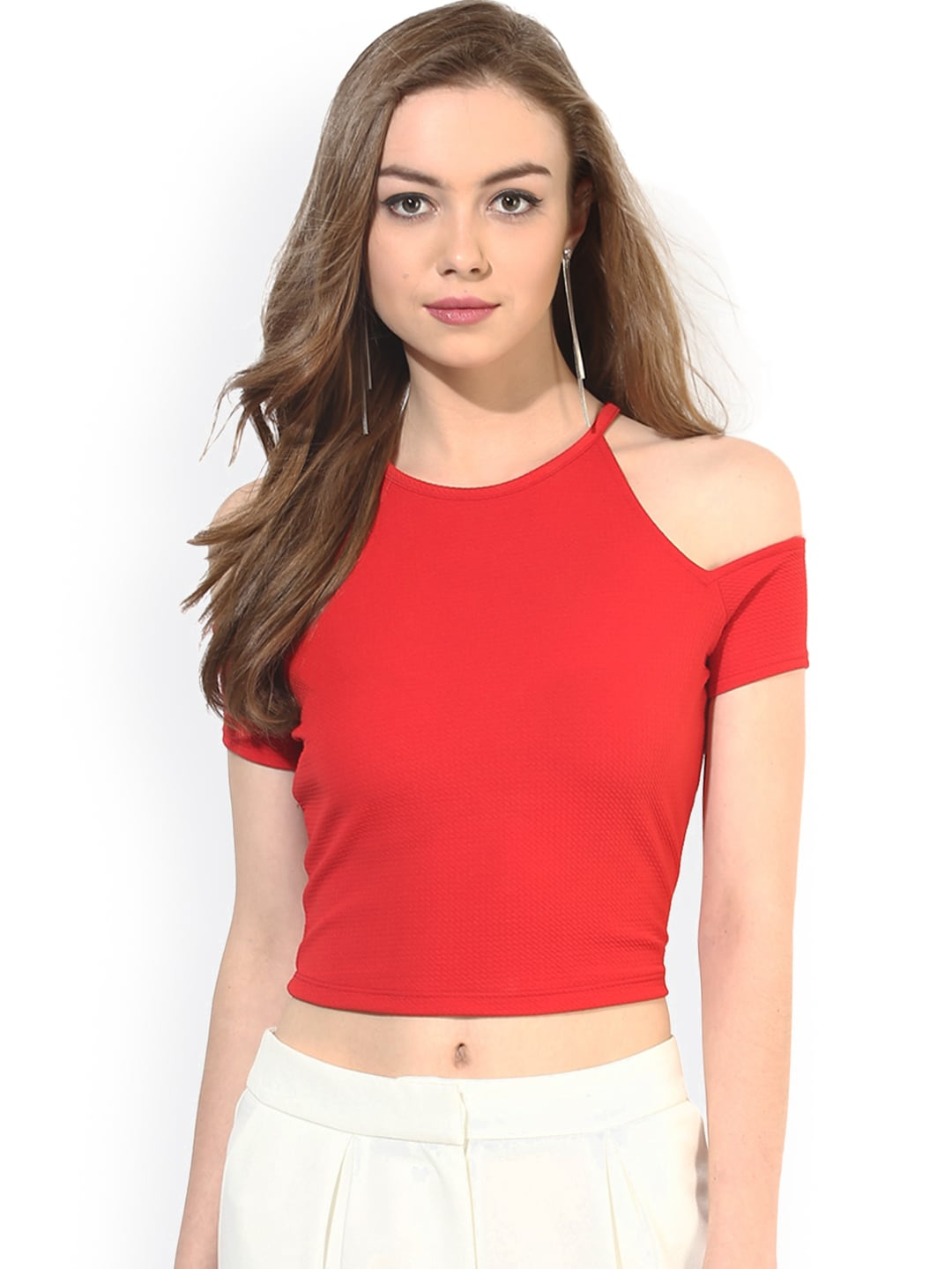 f4387ec5e56b82 Crop Tops - Buy Crop Tops Online - Myntra