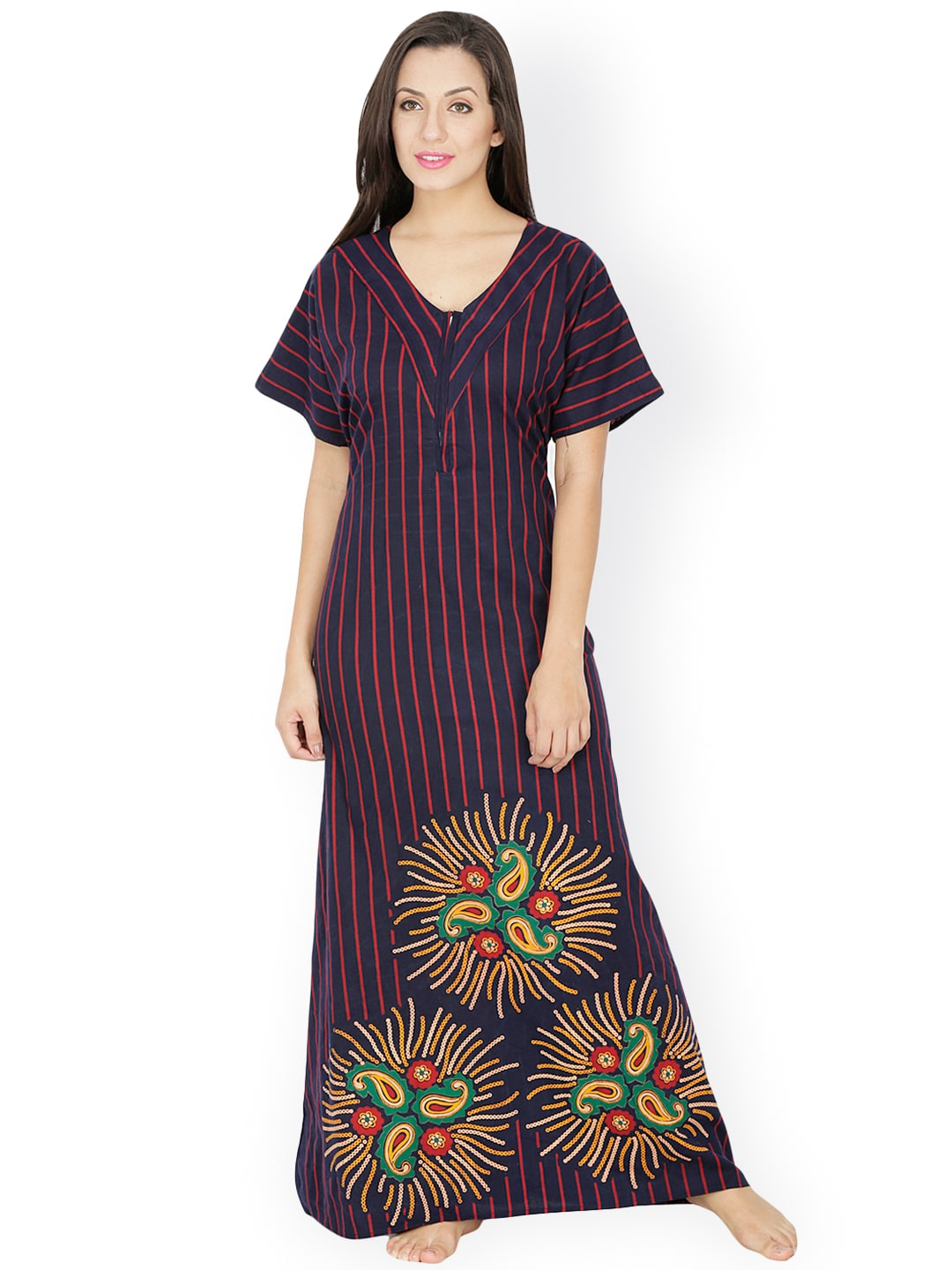 d6b6ec70b1 Cotton Nightdresses - Buy Cotton Nightdresses Online in India