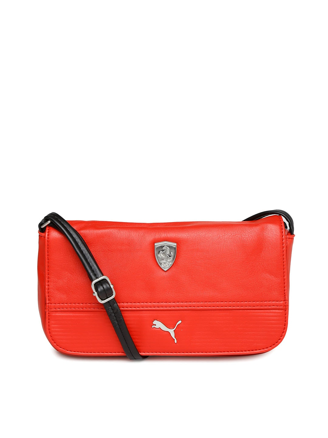 Buy PUMA Black Ferrari Sling Bag - Handbags for Women | Myntra