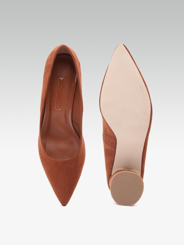 DOROTHY PERKINS Women Brown Solid Sandals