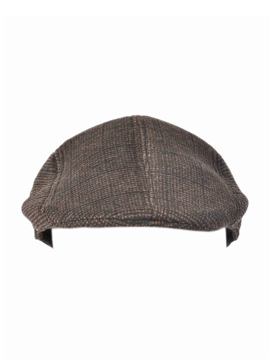 Alvaro Castagnino Men Brown Ascot Cap