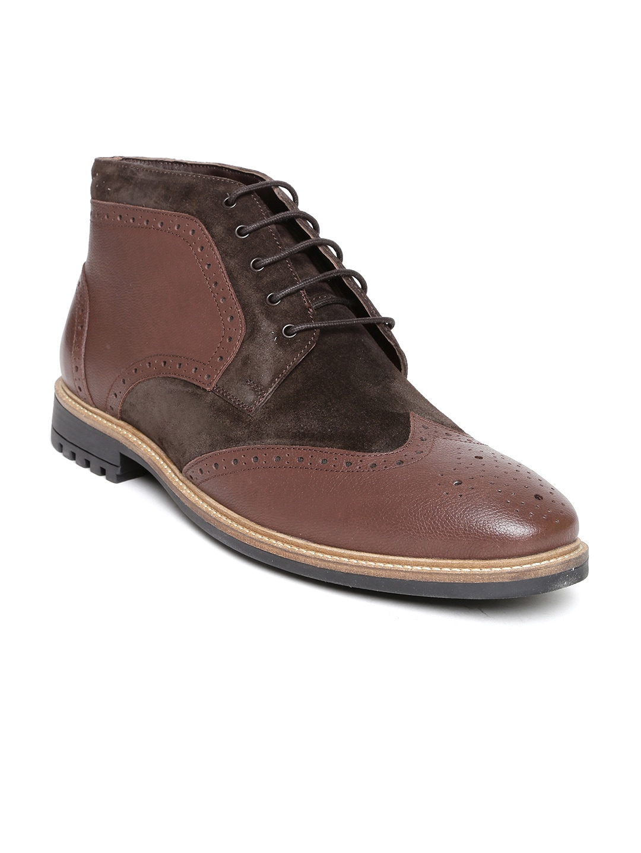buy bata brown casual shoes 632 footwear for