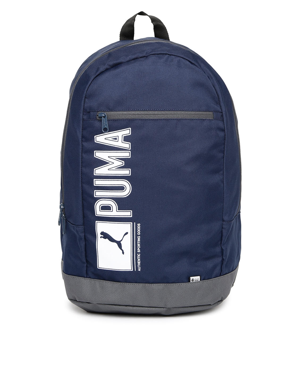 a1b6e238dc88 Puma Navy Blue Blue Bags Backpacks - Buy Puma Navy Blue Blue Bags Backpacks  online in India