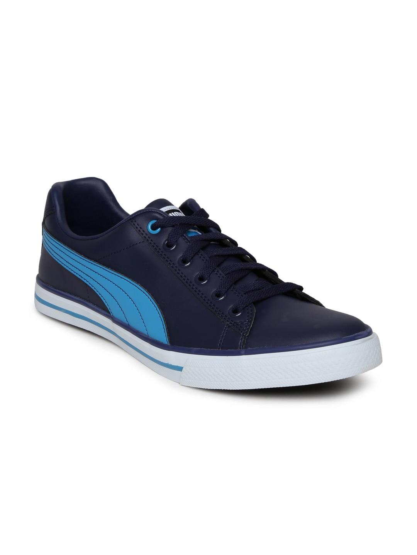 Buy PUMA Men Black Salz III DP Casual Shoes - Casual Shoes for Men | Myntra