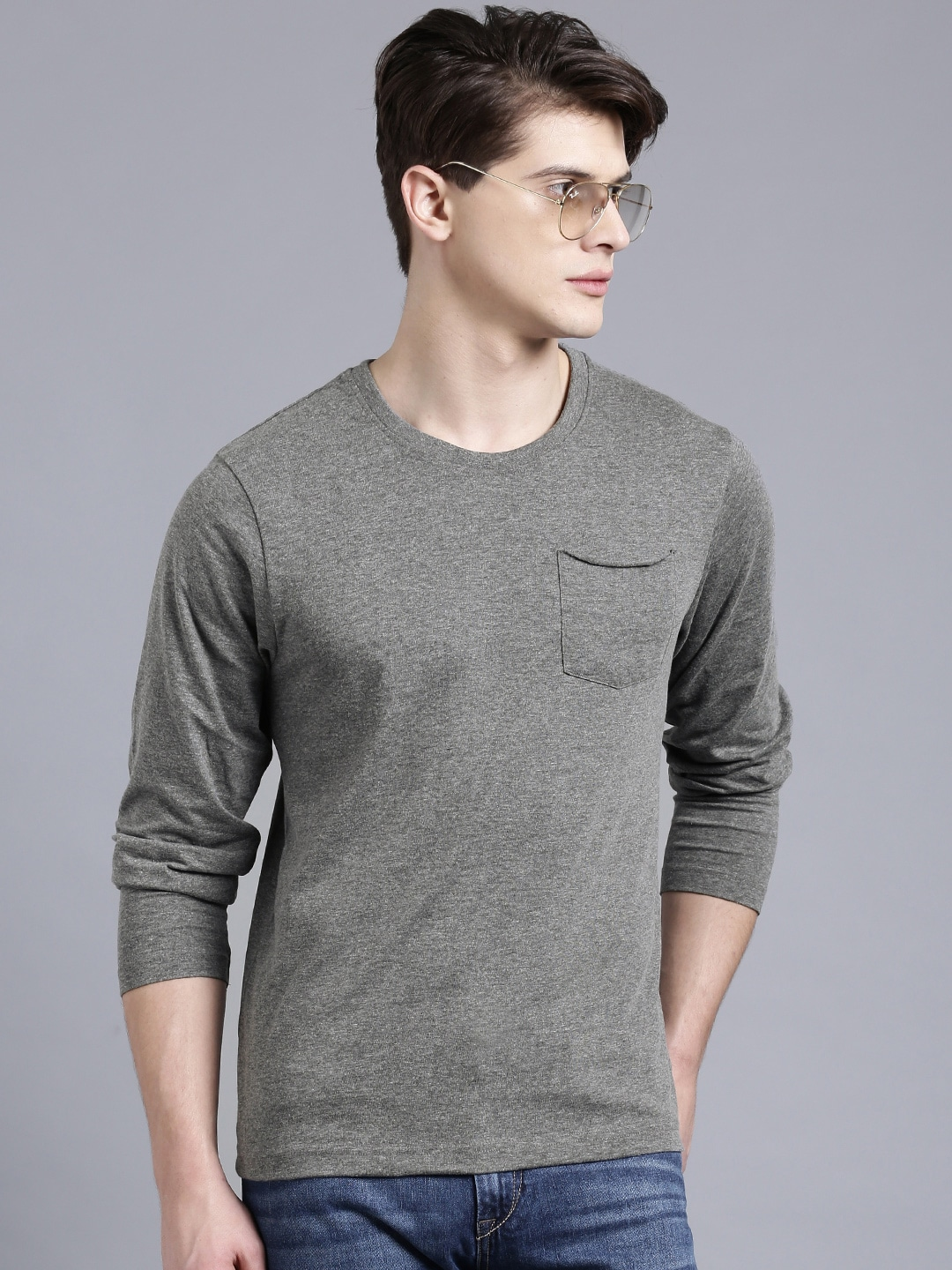 Checkout the exclusive collection of branded t-shirts for men on Shoppers Stop's website. Order Mens T Shirts Online & avail Free Shipping Cash on Delivery.