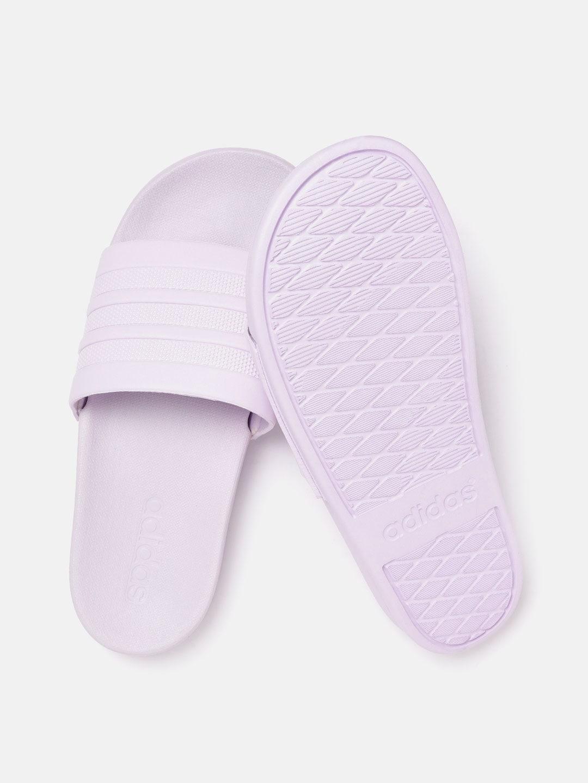 ADIDAS Women Lavender Adilette Comfort Textured Sliders