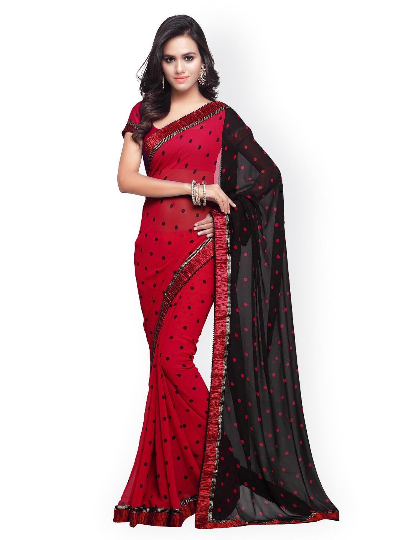 ceef7fcaf Vishal Prints Embellished Sarees - Buy Vishal Prints Embellished Sarees  online in India