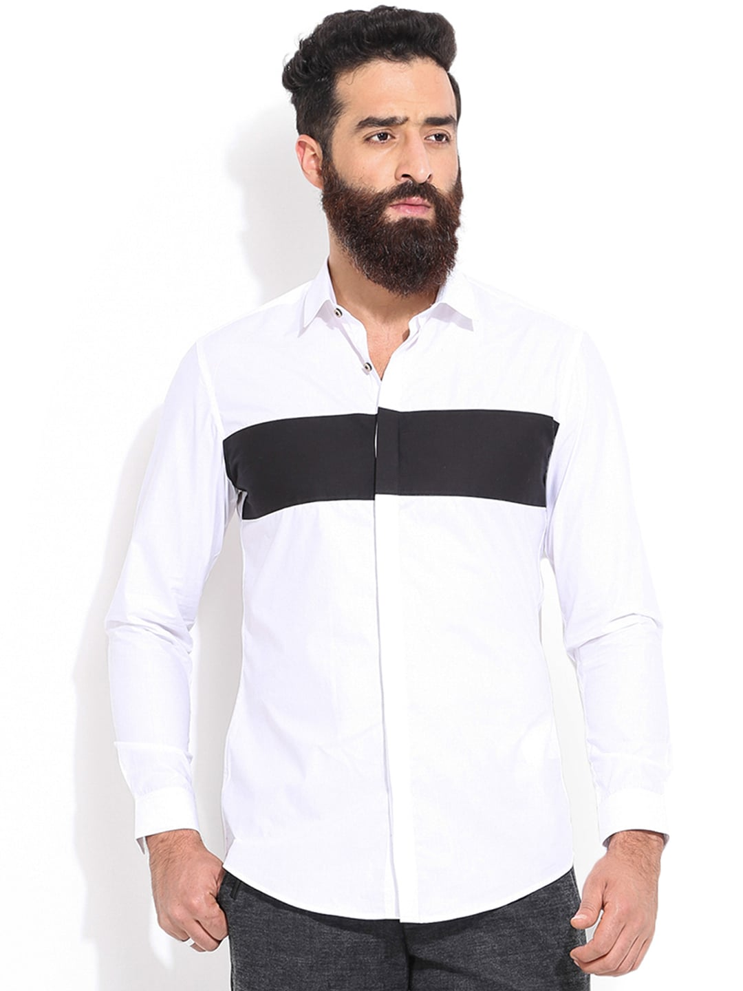 morris hebrides oneck off white
