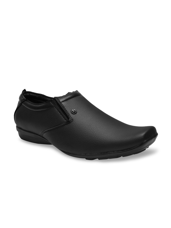 buy prolific black semiformal shoes formal shoes for