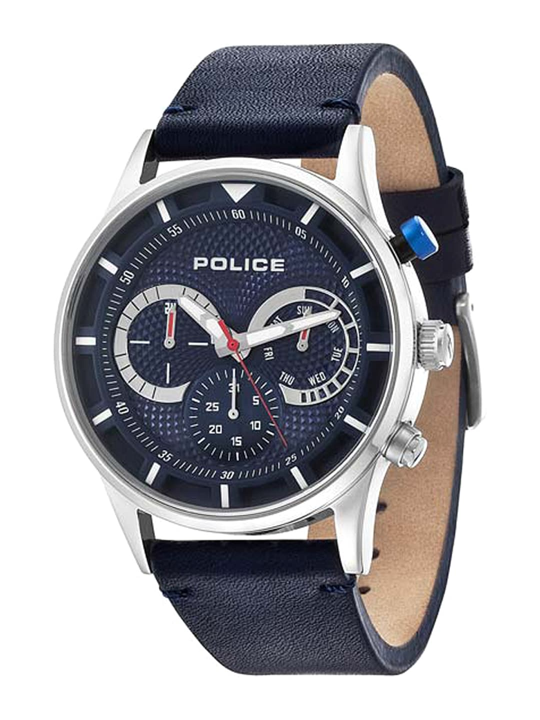 buy police men blue dial watch pl14383js03j watches for men myntra