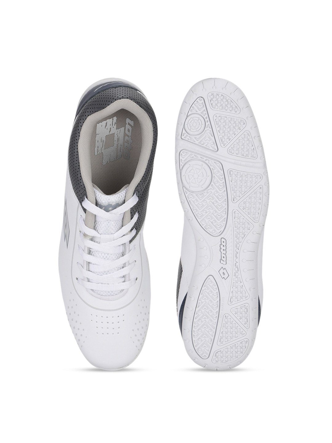 Lotto Men White Sneakers