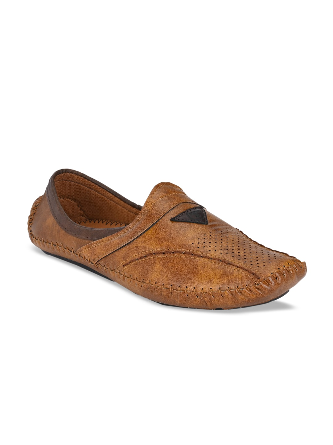 Walkstyle By El Paso Men Tan Brown Mojaris