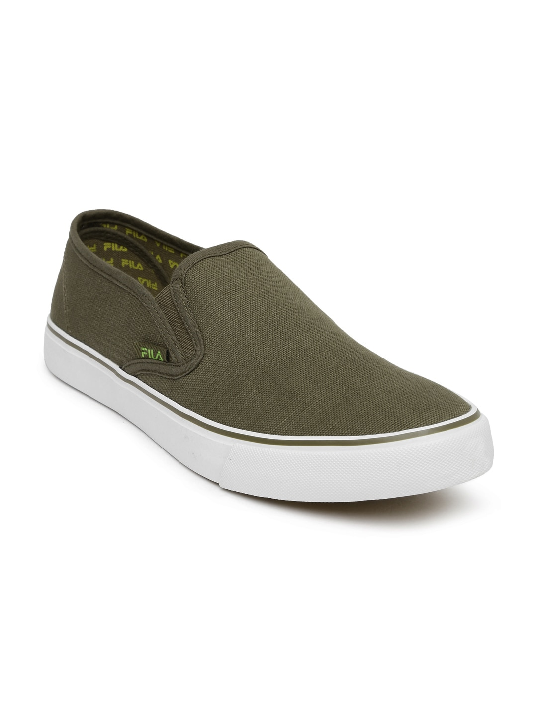 buy fila unisex olive green relaxer iv loafers casual