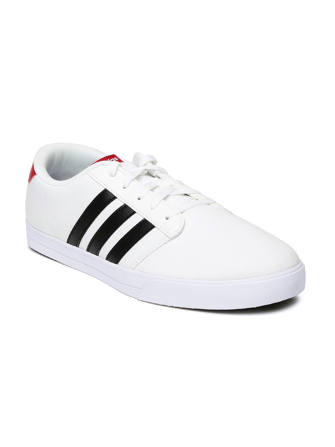 Neo White Navy Red Adidas: Buy Adidas NEO Men White Vs Skate Casual Shoes