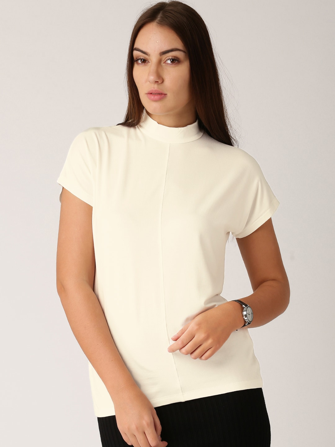 aae90a80 Ladies Tops - Buy Tops & T-shirts for Women Online | Myntra