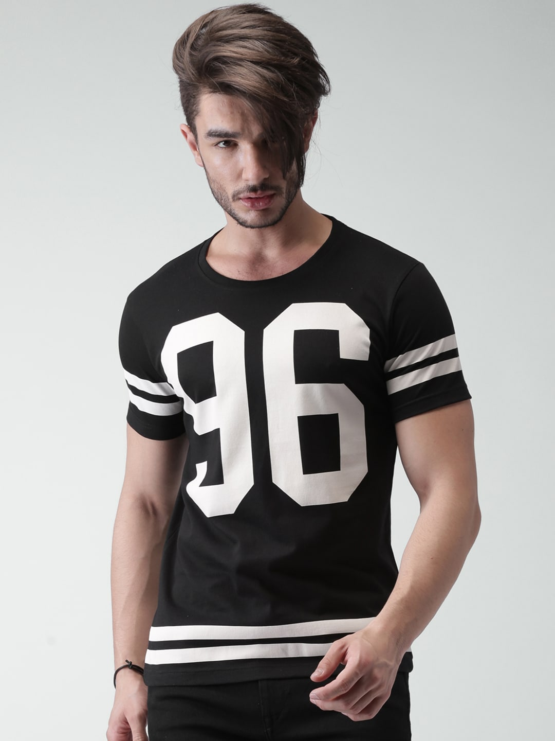 Black Printed T Shirts