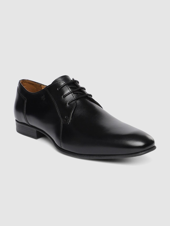 Arrow Men Black Solid MILL 2.0 Leather Derbys