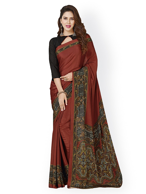 d61d237bfff Ligalz Printed Sarees - Buy Ligalz Printed Sarees online in India