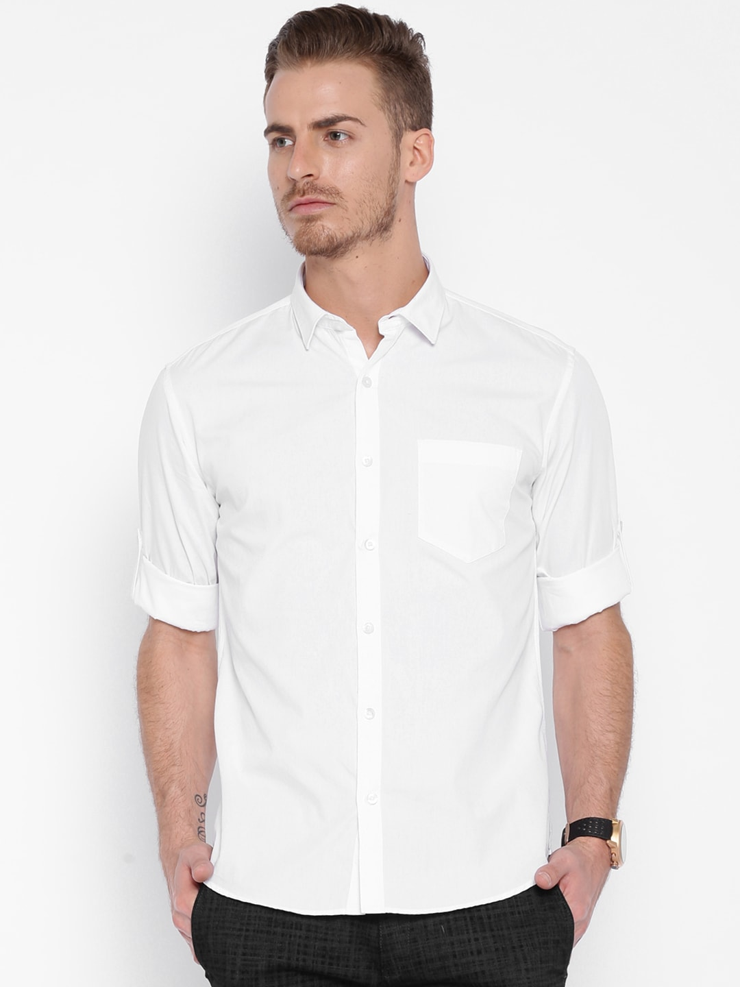White Shirt - Buy White Shirt online in India