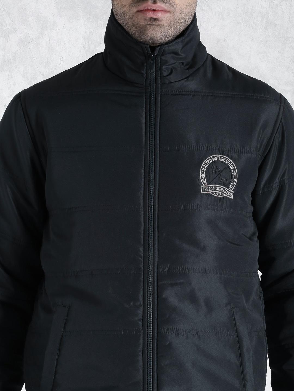Roadster Navy Puffer Jacket