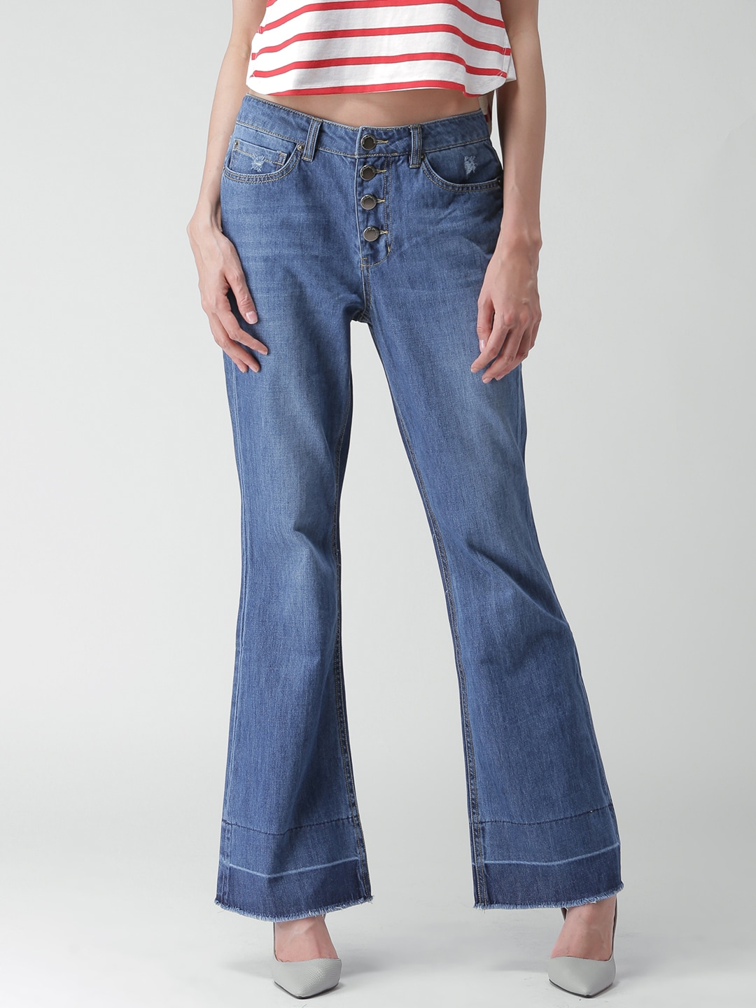 Buy Bootcut Jeans Online India - Jeans Am