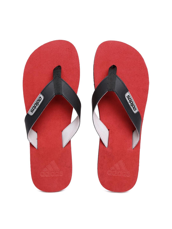 d7618fd9aa6fb0 Adidas Black Flip Flops - Buy Adidas Black Flip Flops online in India