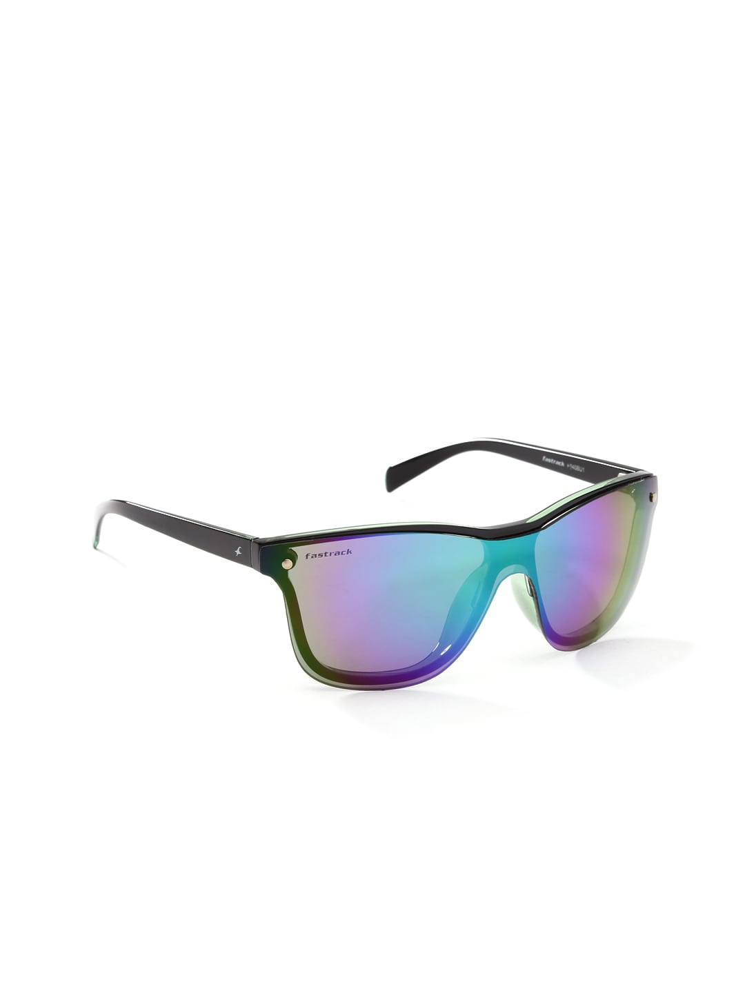 Fastrack Men Mirrored Sunglasses P340BU1
