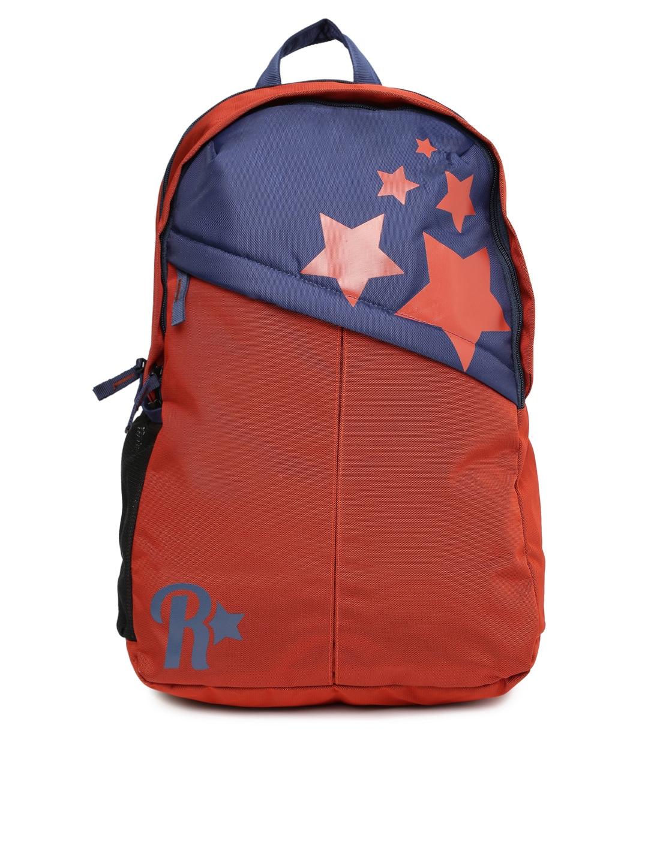 528885365b Roadster Unisex Rust Orange & Navy Blue Backpack