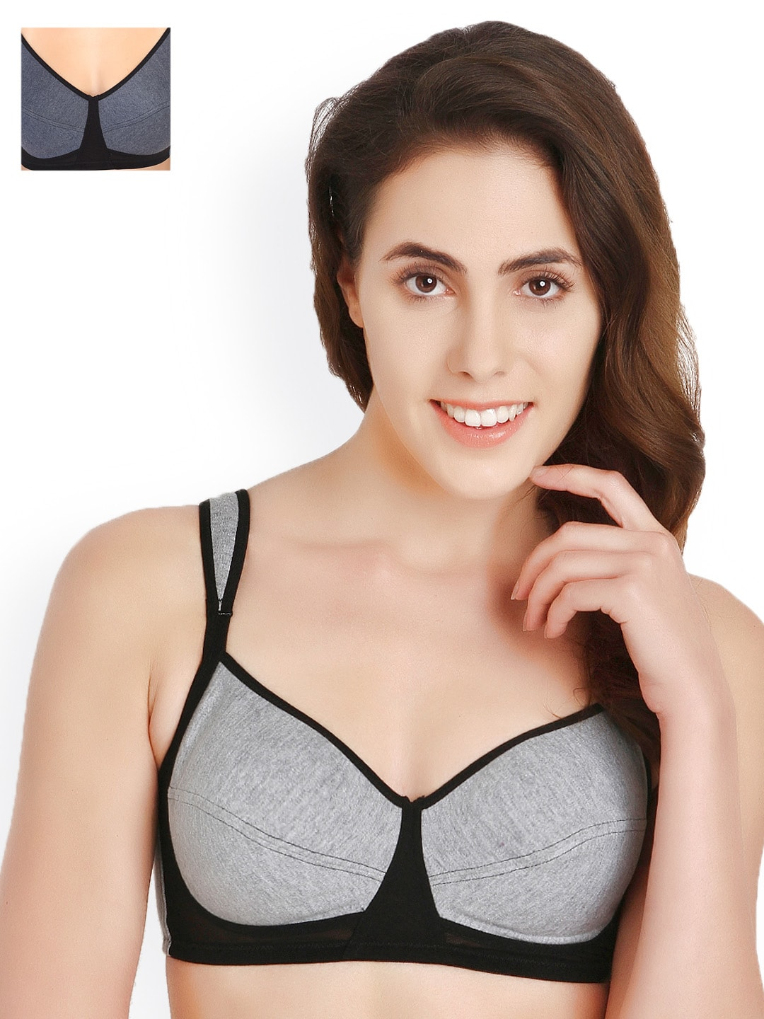 Soie Pack of 2 Full-Coverage T-shirt Bras 901