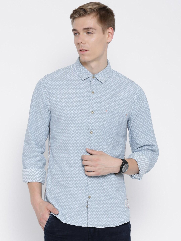 378a887ce0 Denim Shirts - Buy Denim Shirts for Men Online in India