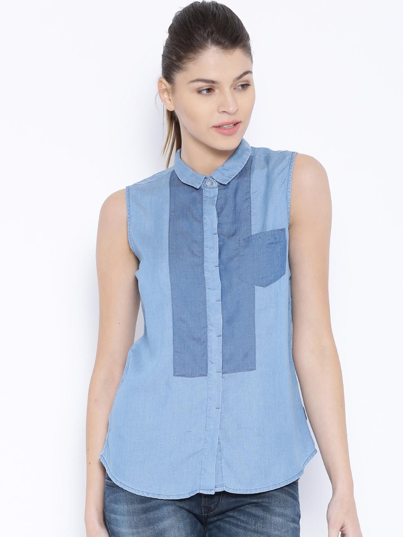 efa223f5c4c Lee Women Shirt - Buy Lee Women Shirt online in India