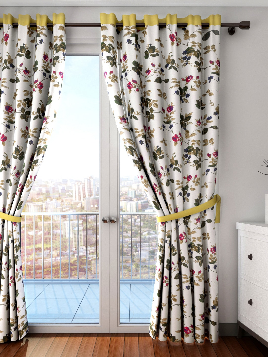White Curtains For Living Room Curtains Buy Window Curtains Door Curtains Sheers Online