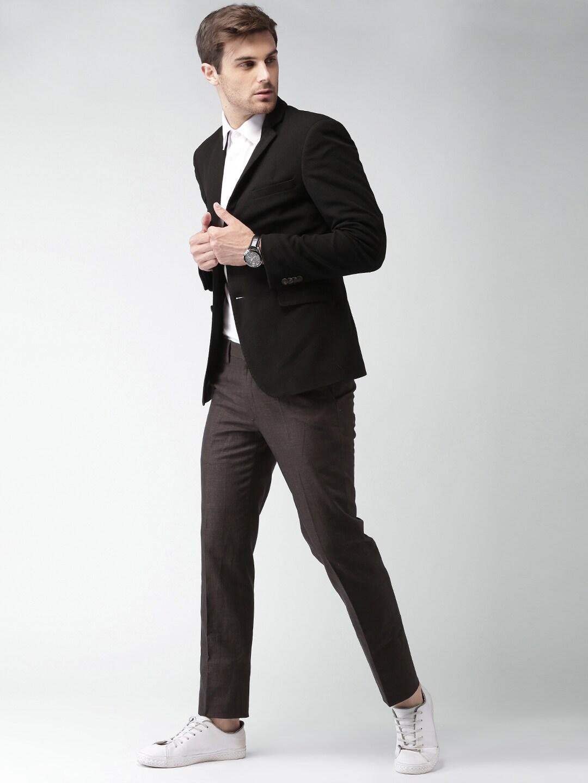 blazers buy blazers for men women online in myntra