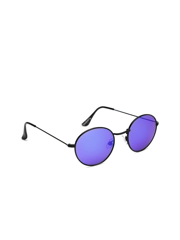 DressBerry Women Mirrored Round Sunglasses DB MFB SN 134