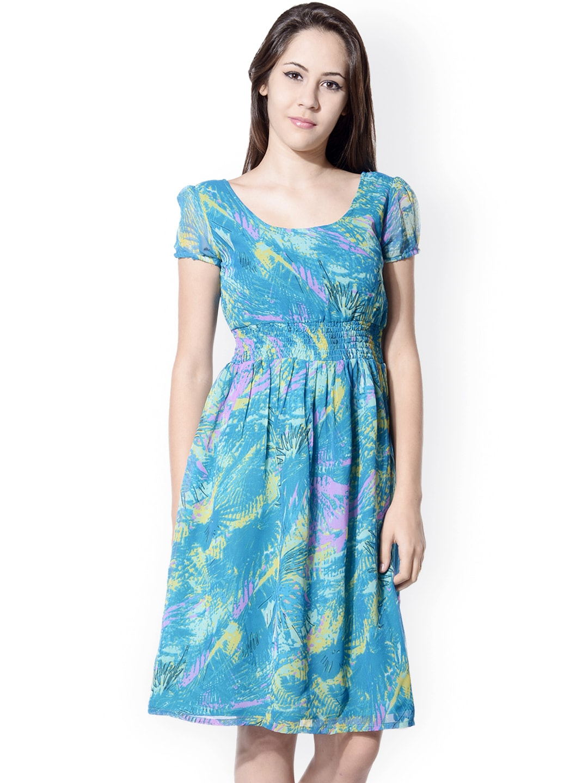 Popular Buy Femella Women Magenta Dress With Belt  Dresses For Women  Myntra
