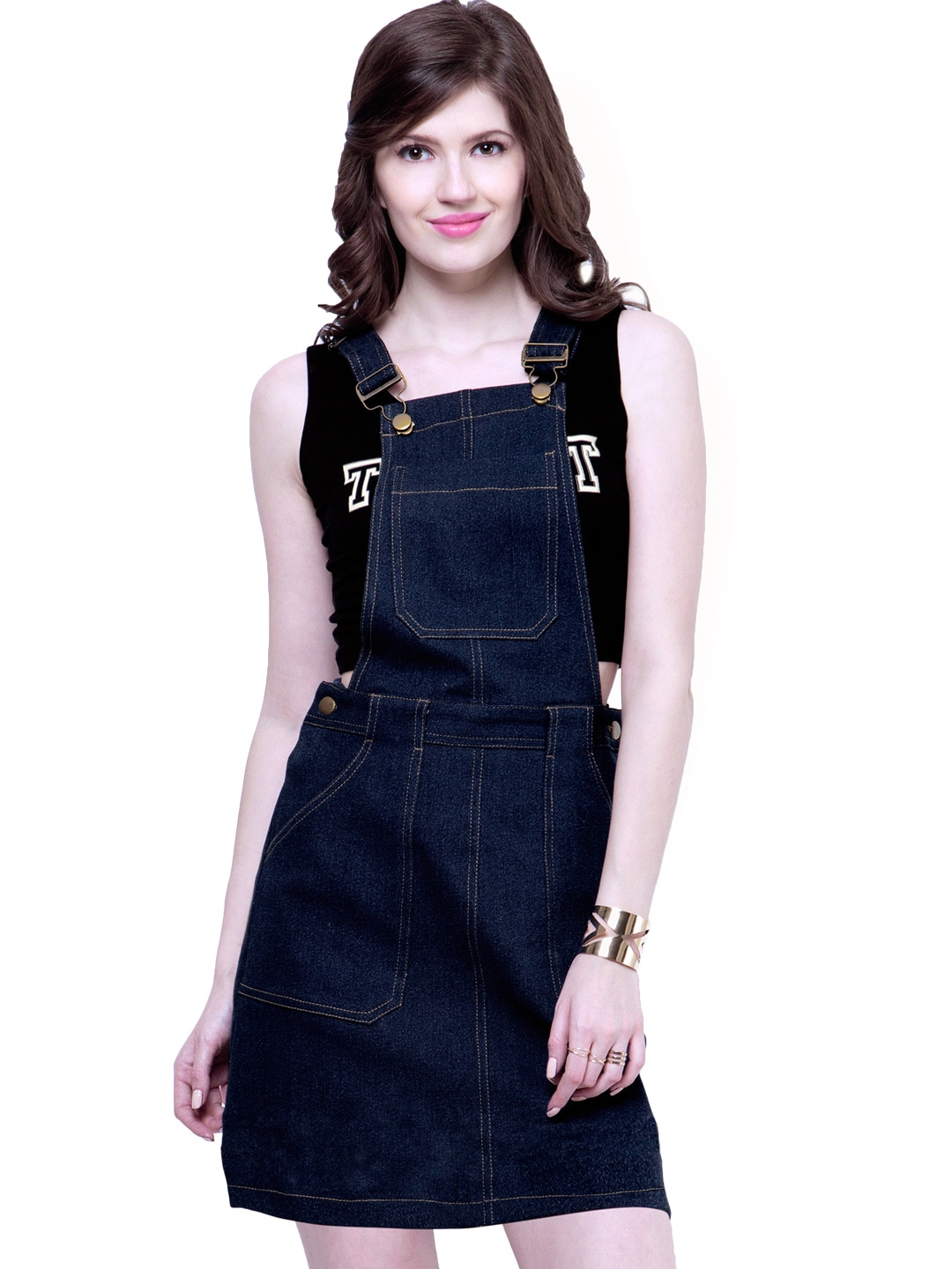 Denim Dresses - Buy Denim Dresses Online in India | Myntra