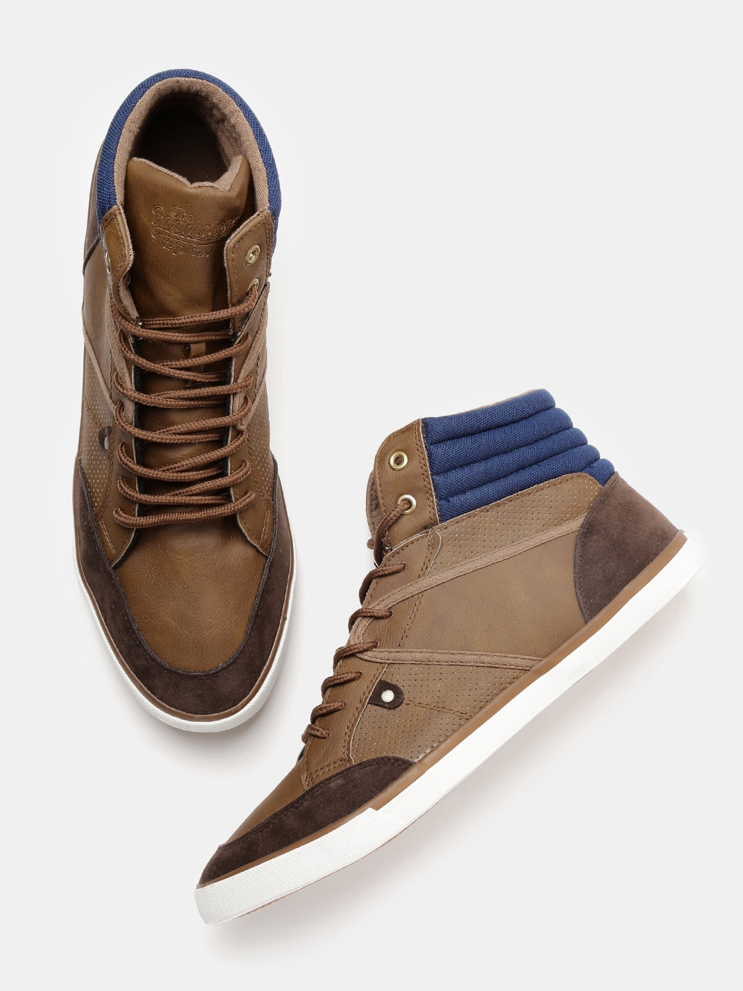 74830b5a7708 High Top Shoes - Buy High Top Shoes online in India