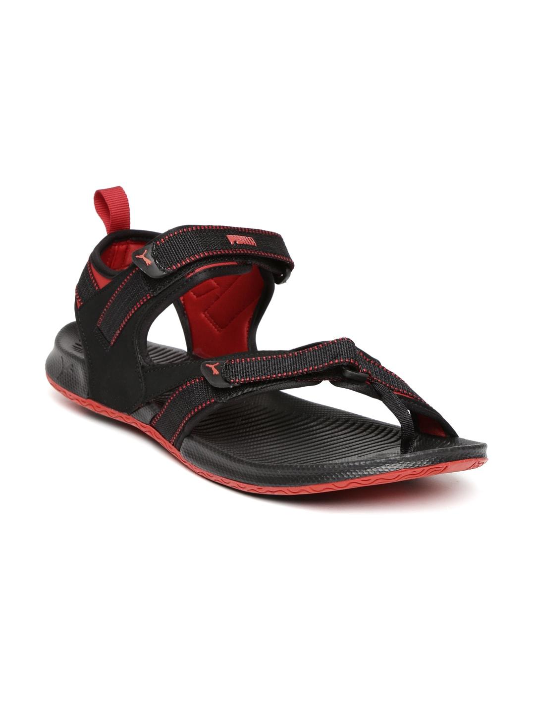 4af3177368313 Puma Men Black Red Sandal Sports - Buy Puma Men Black Red Sandal Sports  online in India
